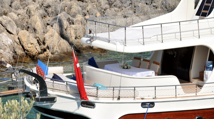 Crewed Gulet Charters 10