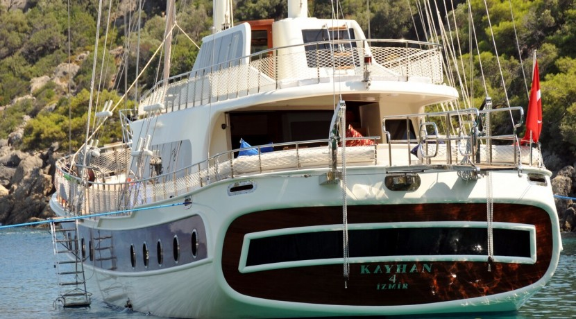 Crewed Gulet Charters 11