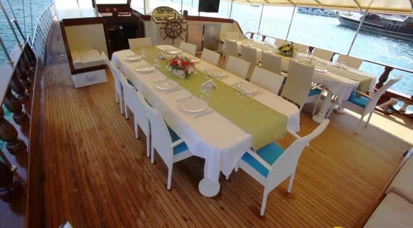 Private boat charter in Turkey 03