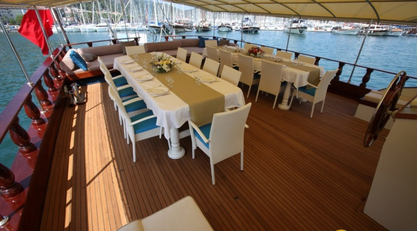 Private boat charter in Turkey 10