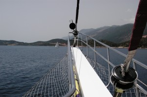 Sailing in Turkey